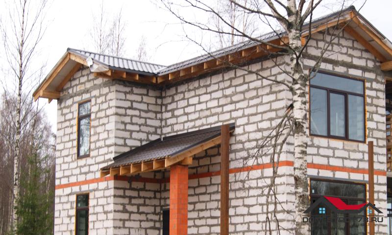 Фасадные панели для отделки фасада дома