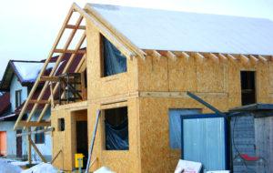 Скорость возведения каркасного дома