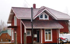 Много вариантов планировки каркасного дома